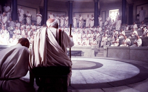 senadores romanos